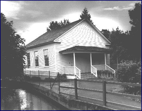 Pleasant Grove Church, 1992, Moved to Mission Mill Museum